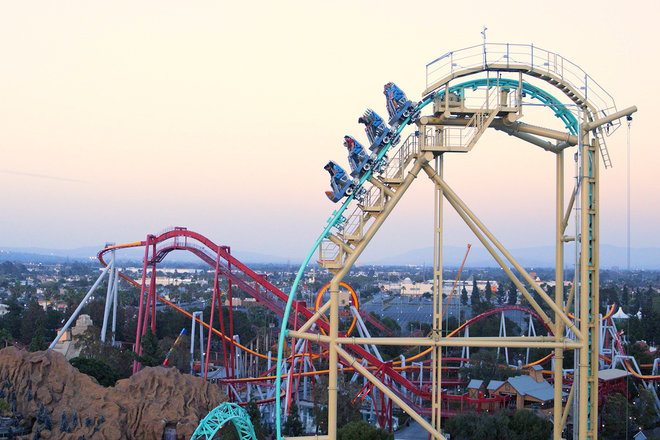 15 Awesome California Roller Coasters