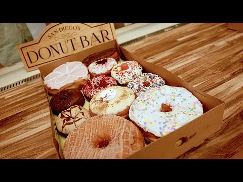 San Diego's Gourmet Grown-Up Donuts