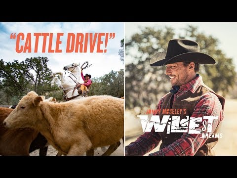 Jonny Moseley's Wildest Dreams: CATTLE DRIVE!