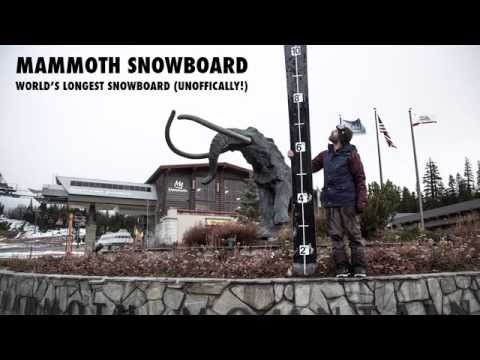 The Mammoth-Sized Snowboard