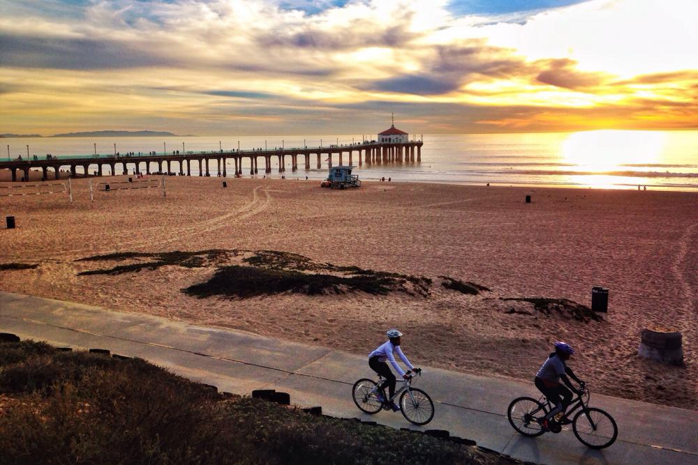 Tips for Where to Run, Bike, and Eat Healthy in L.A.
