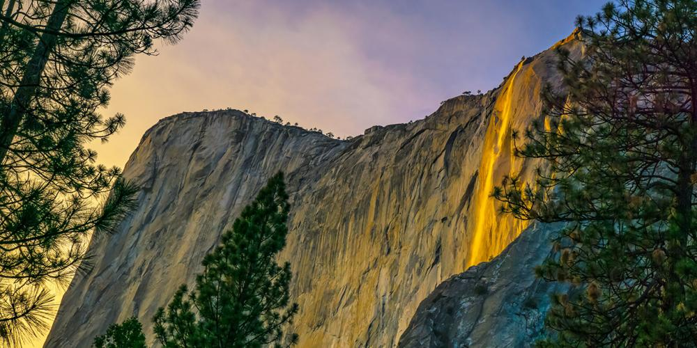Waterfalls and Firefalls