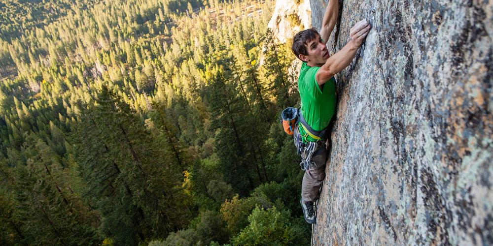 CALIFORNIA QUESTIONNAIRE: Alex Honnold