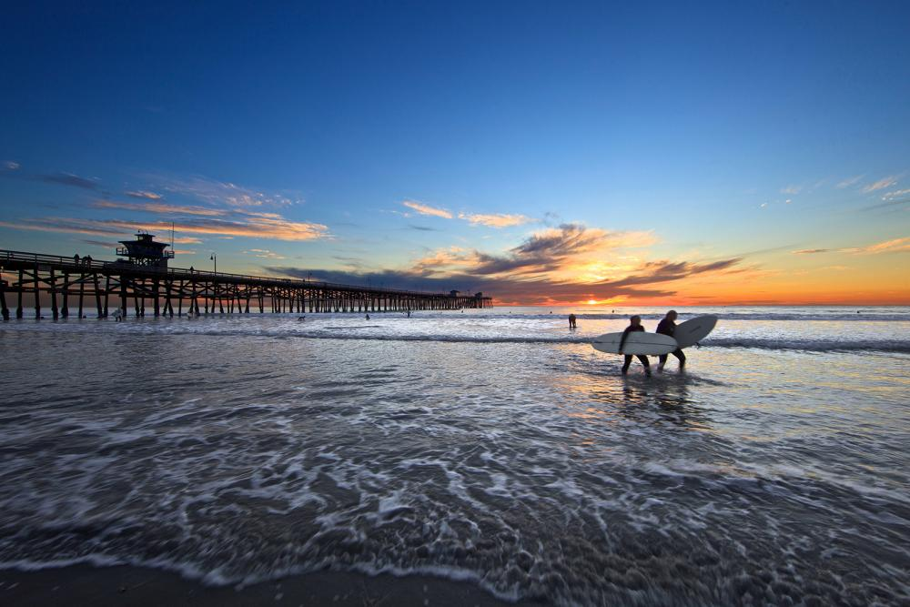 Learn How to Surf in California