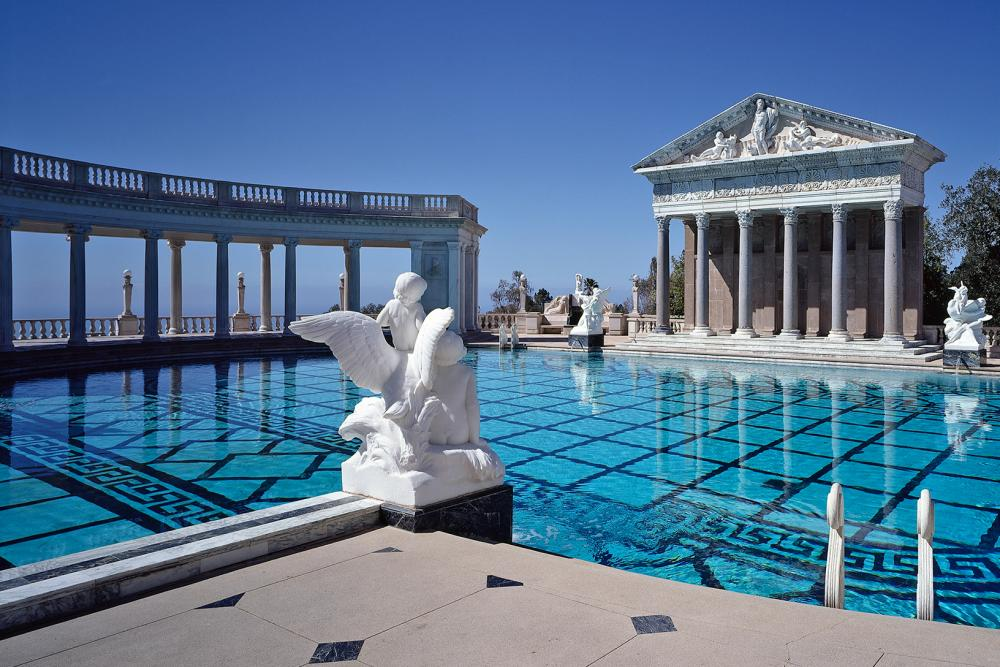 Hearst Castle's Gorgeous Neptune Pool Refilled After Renovation