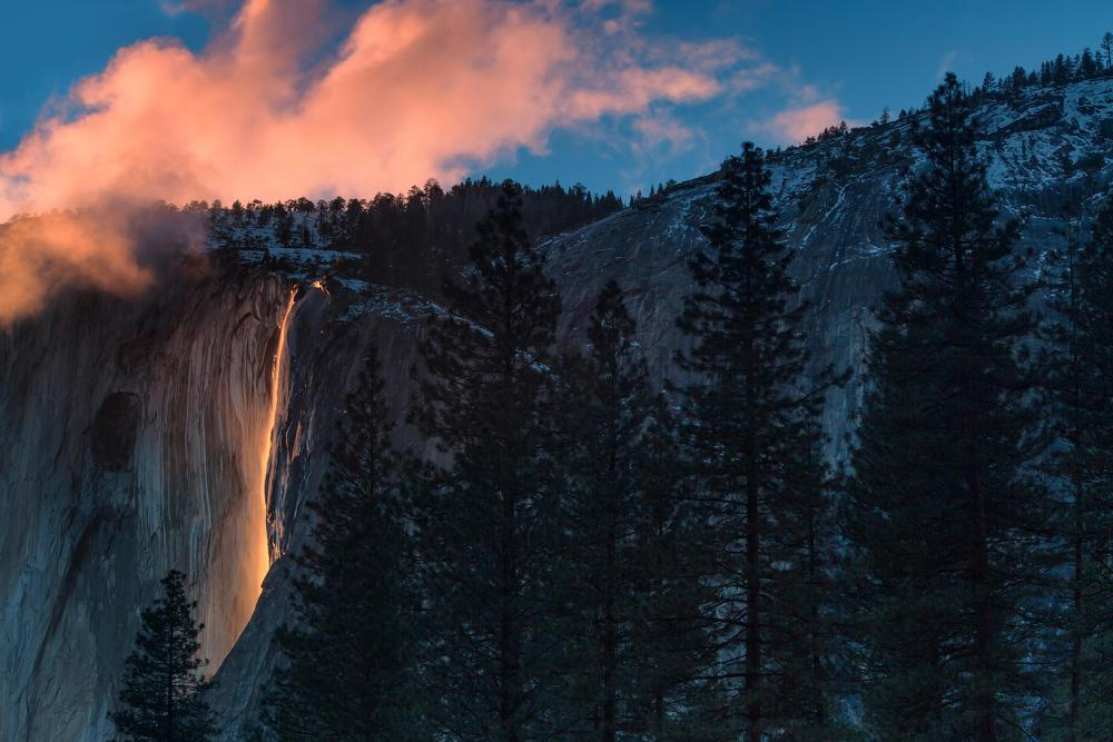 How to Hack Your Visit to Yosemite's Famous Fiery Waterfall