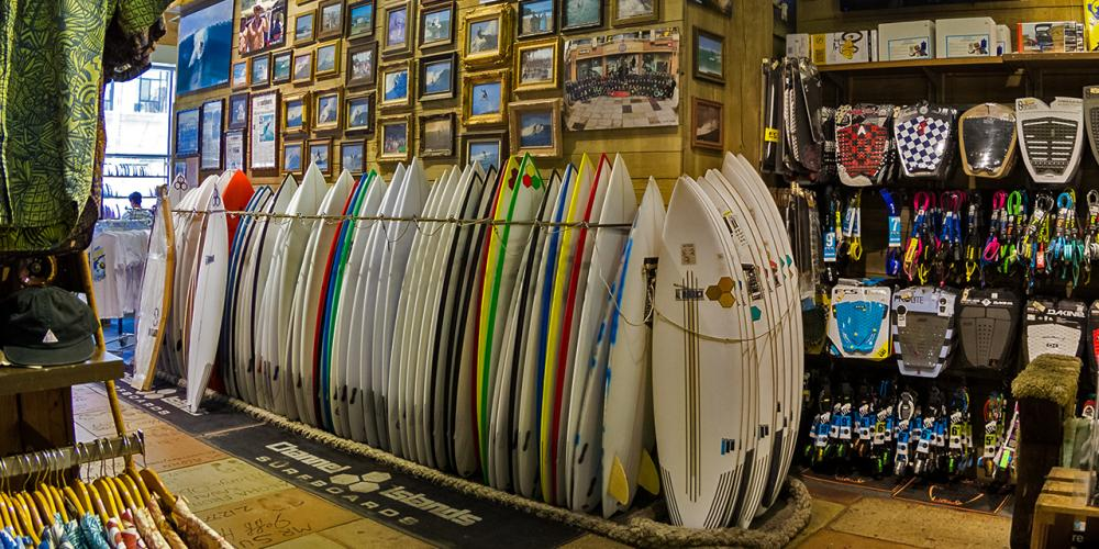 Huntington Beach Surf Shops