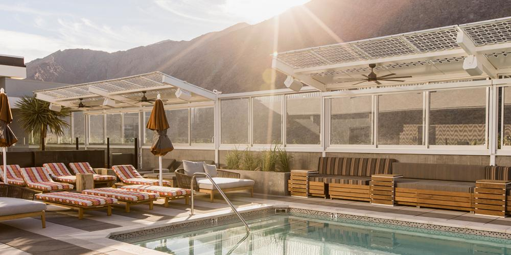 Rooftop Hotspots in Palm Springs