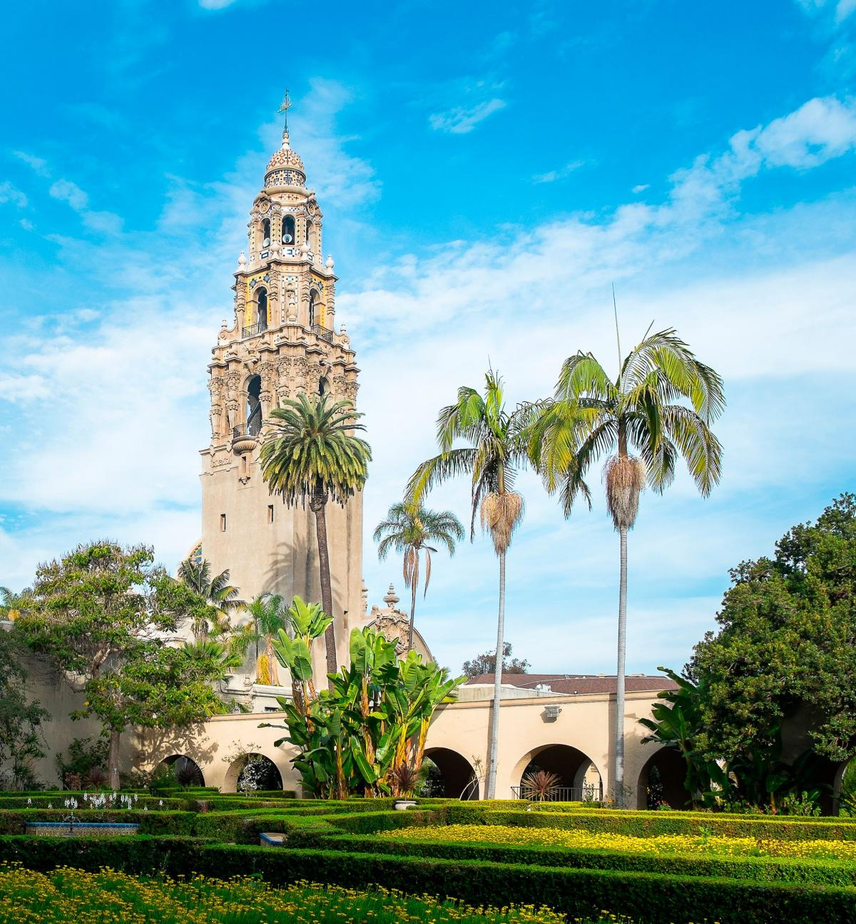 California Tower - Balboa Park, San Diego