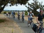 Urban wine trail bike tours