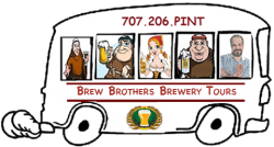 Sonoma County guided brewery tours