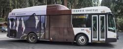 Public transit to and in Sequoia National Park
