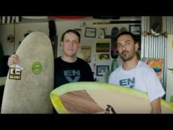 The guys who make mushroom surfboards