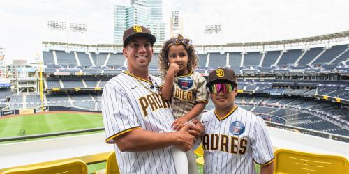 A Naval Commander Wins an Exclusive San Diego Padres Experience