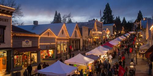 California Towns with Holiday Spirit
