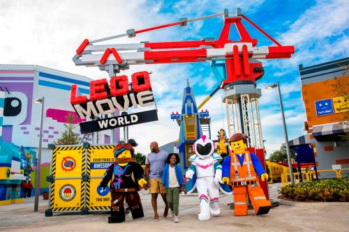 Coming in 2020: LEGO Movie World