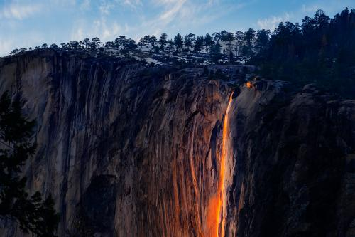 Yosemite Firefall Access Will Be Limited in 2020