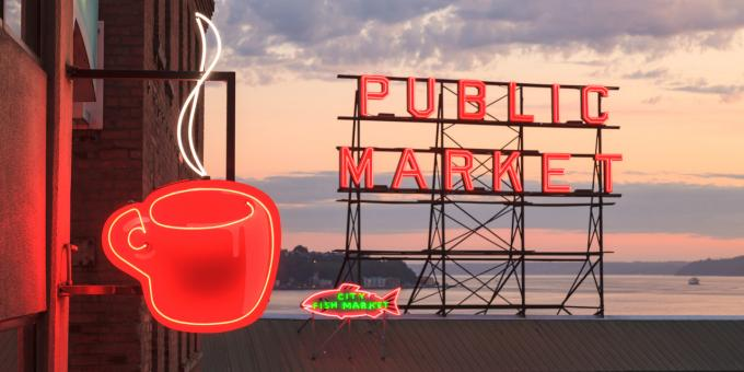 Pike Place, Seattle